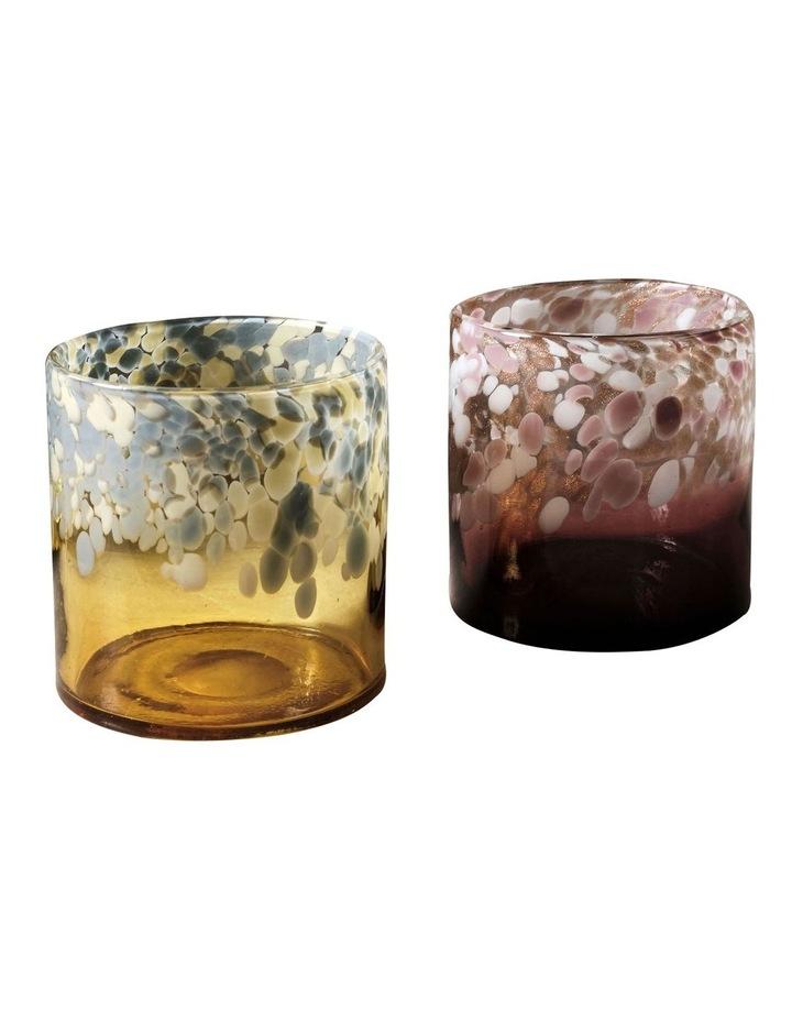 Joan Vase 15cm In Amber image 2