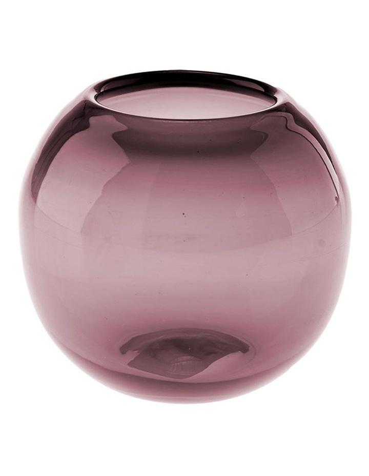 Rita Vase 9cm In Grape image 1