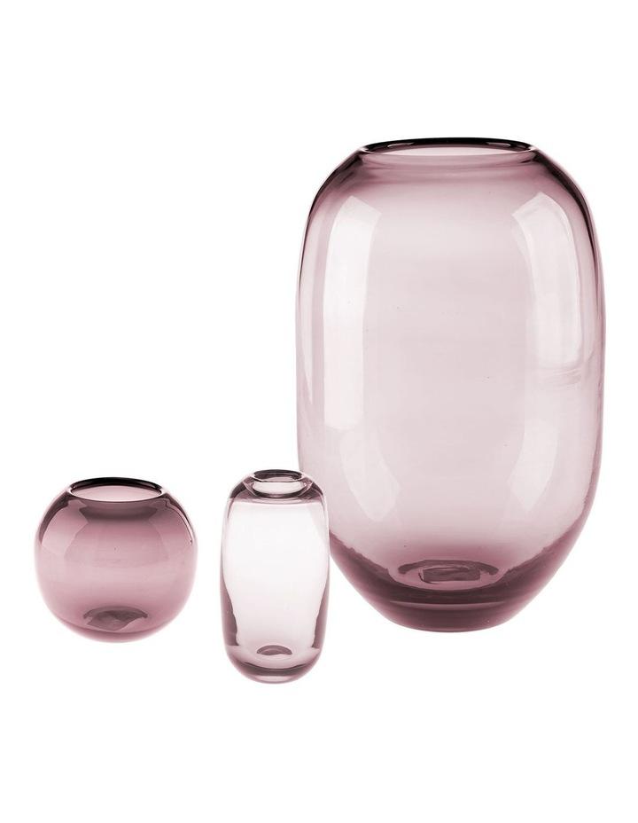 Rita Vase 9cm In Grape image 2