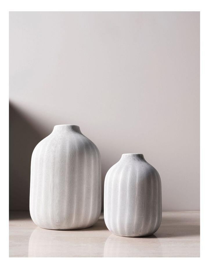 Haley Vase 24cm In Chalk image 2