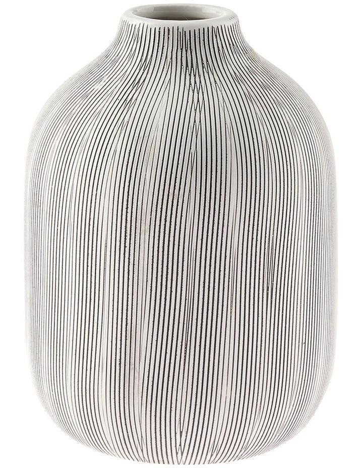 Haley Vase 17cm In Chalk image 1
