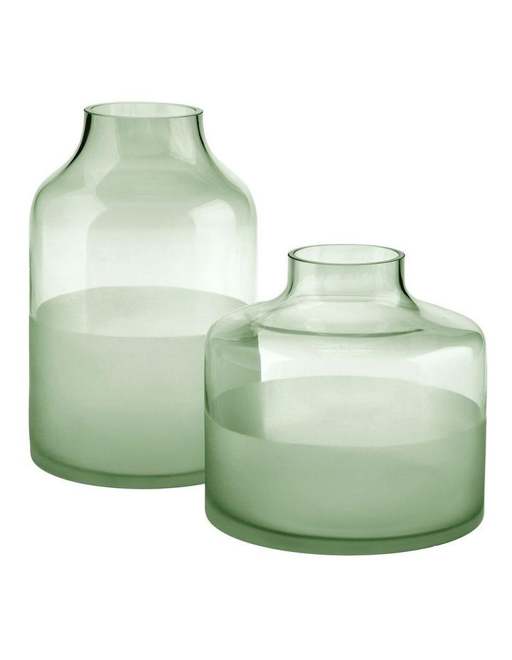 Daphne Vase 16cm In Green image 2