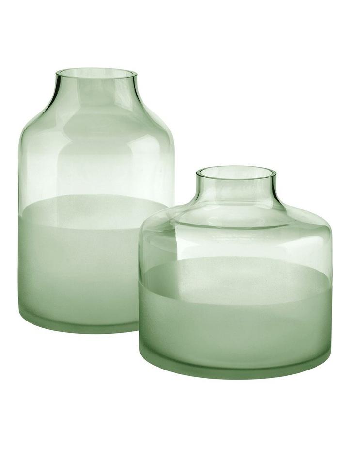 Daphne Vase 23cm In Green image 2