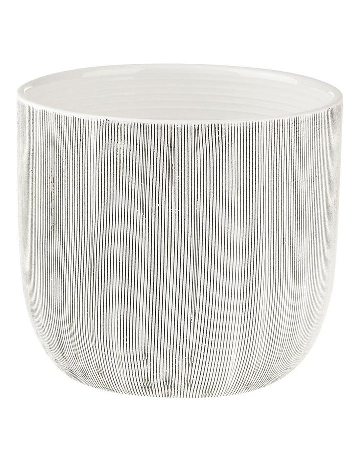 TaupIn Planter Pot 19cm In White image 1