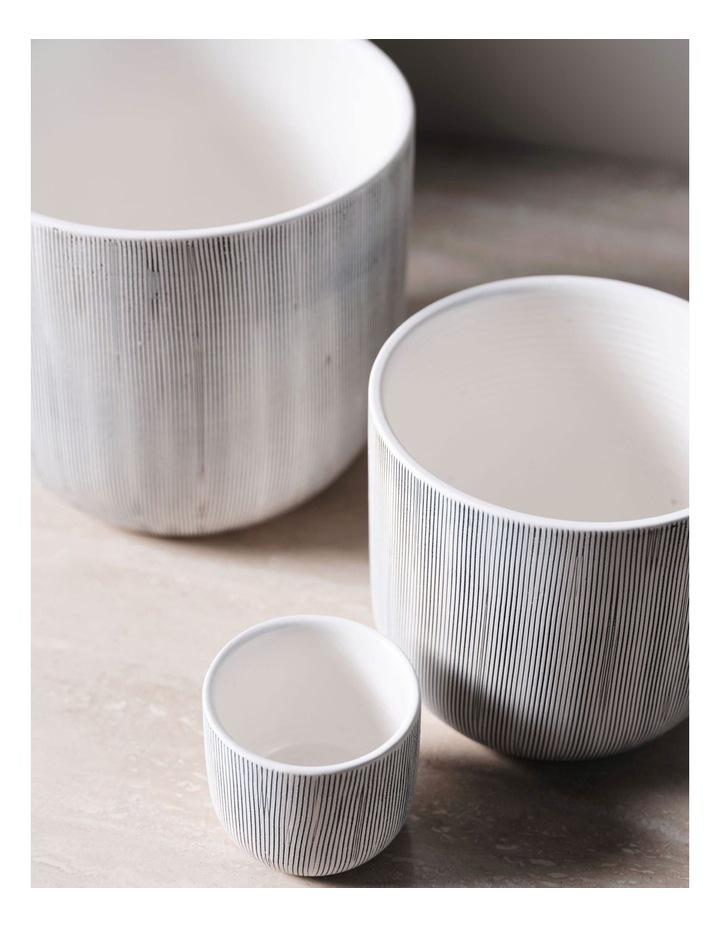 TaupIn Planter Pot 19cm In White image 3