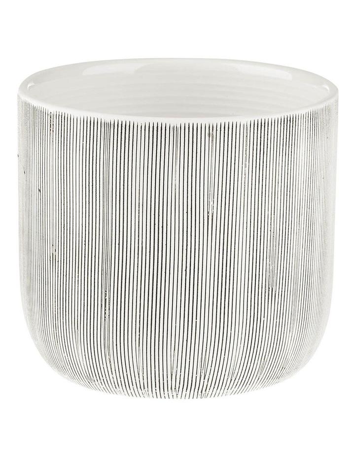 TaupIn Planter Pot 16.5cm In White image 1