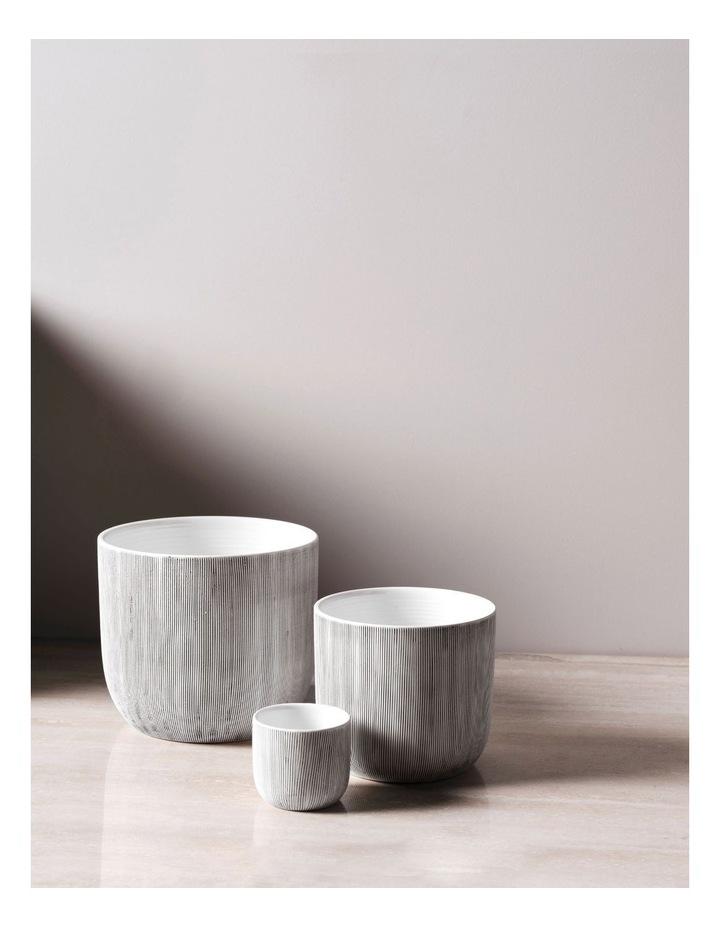 TaupIn Planter Pot 16.5cm In White image 3