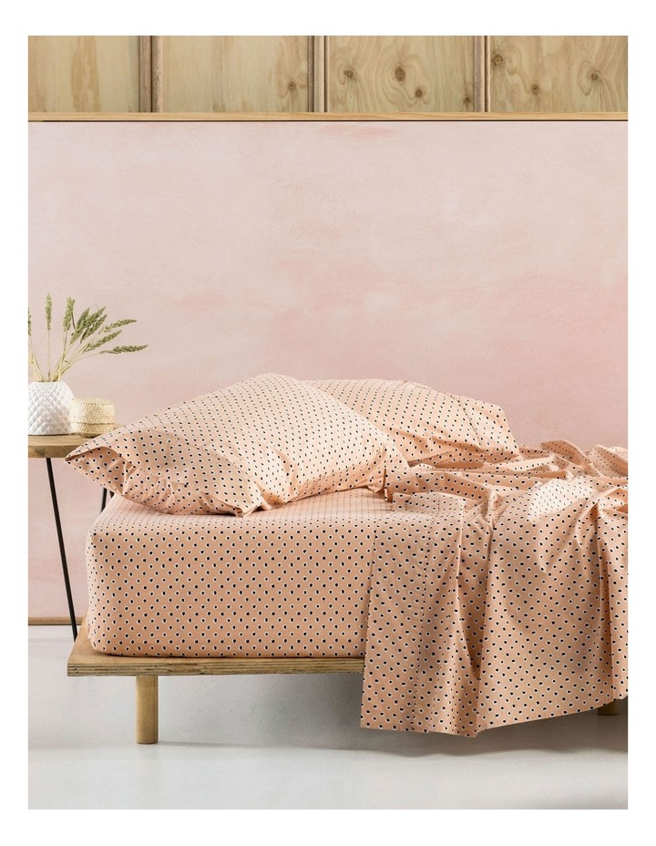 Cleopatra Sheets in Peach image 1