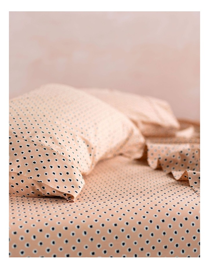 Cleopatra Sheets in Peach image 2