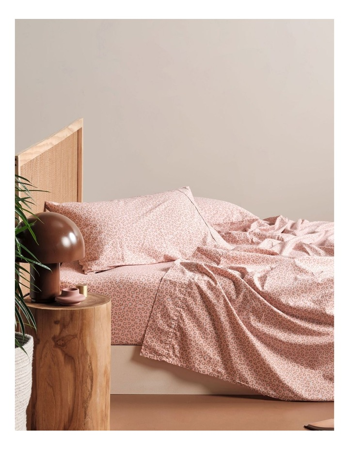 250TC Goldie Sheet Set in Rose image 1