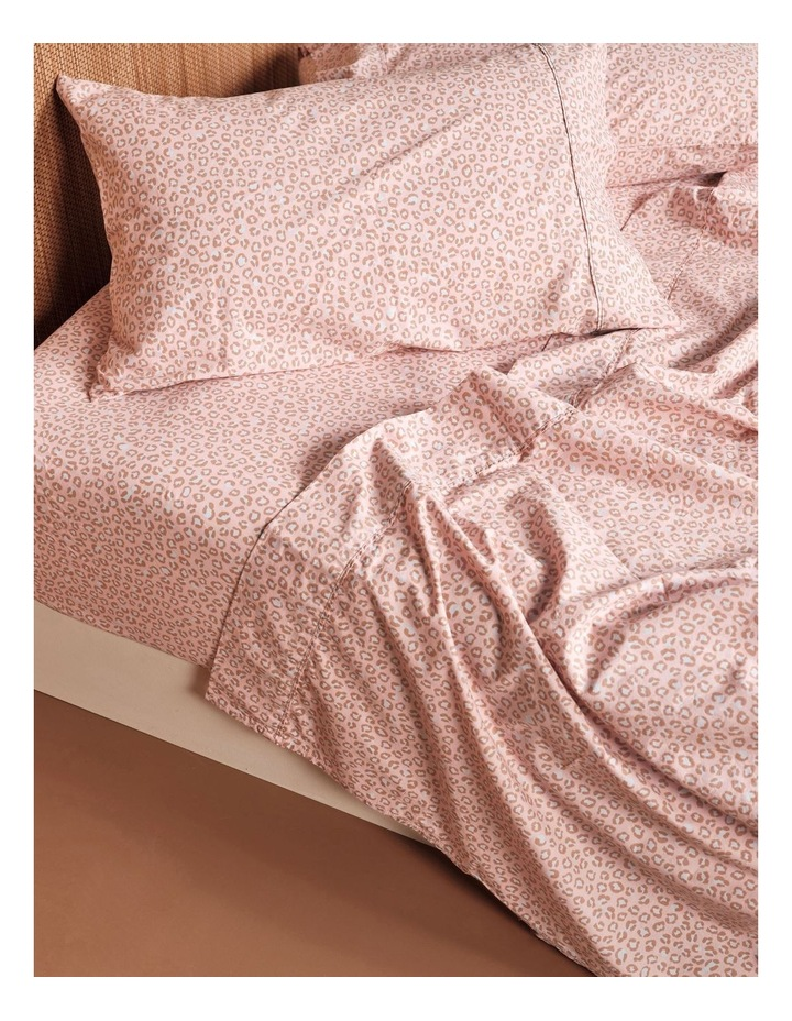 250TC Goldie Sheet Set in Rose image 2
