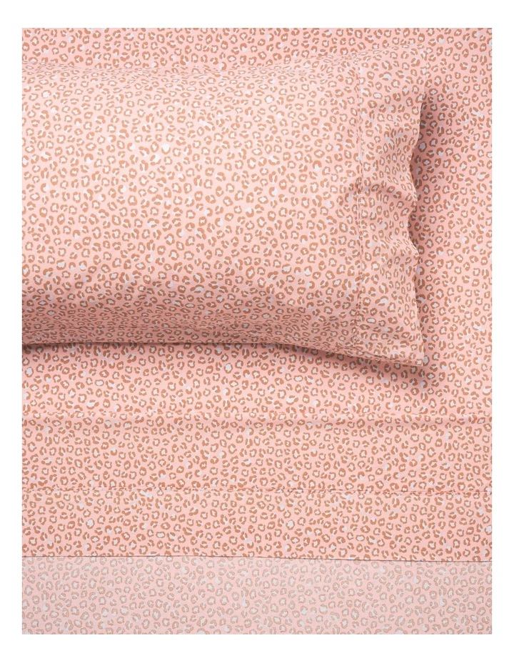 250TC Goldie Sheet Set in Rose image 3
