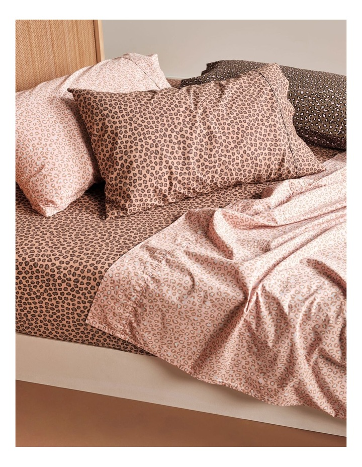 250TC Goldie Sheet Set in Rose image 4