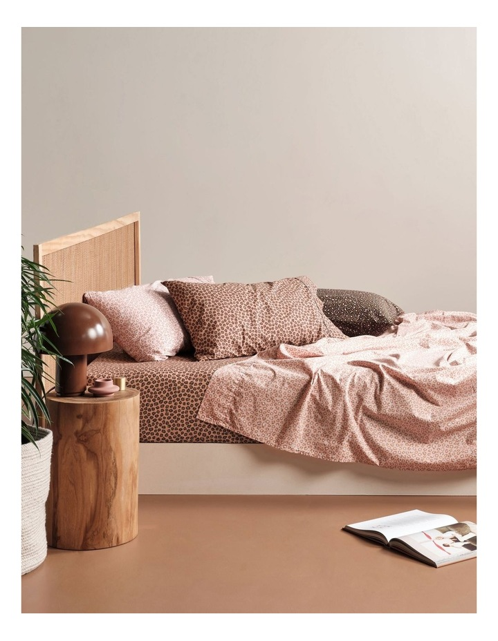 250TC Goldie Sheet Set in Rose image 5