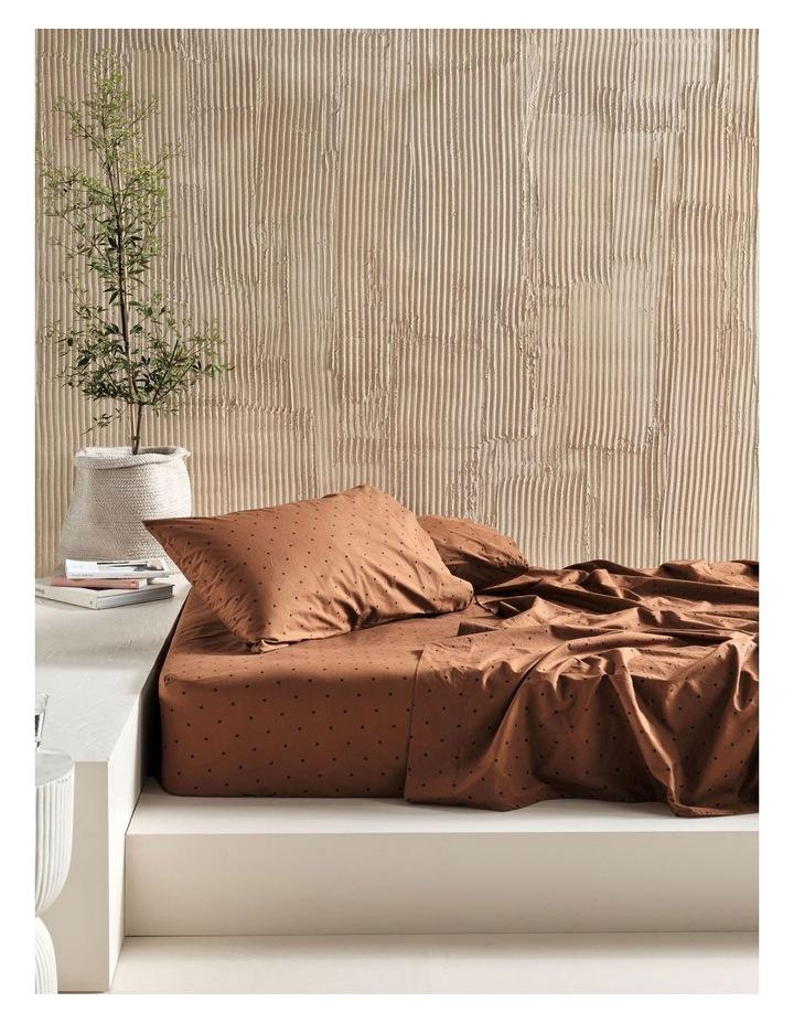 250TC Vivienne Sheet Set in Pecan image 1