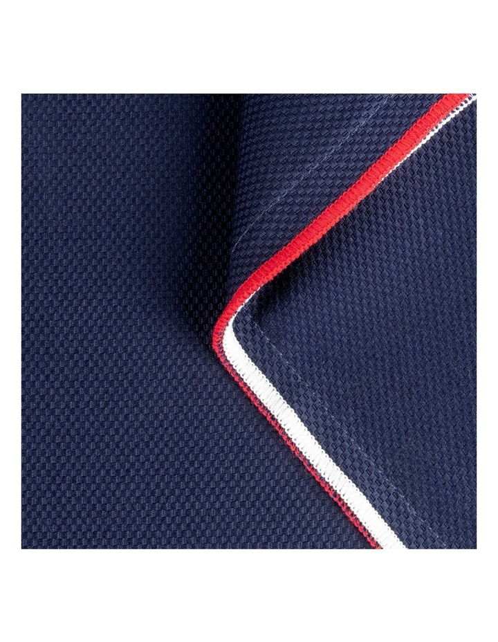 Classic Pique Quilt Cover Set in Navy image 2