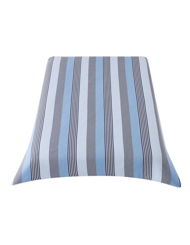indigo Quilt Cover Set in Striped Blue image 3