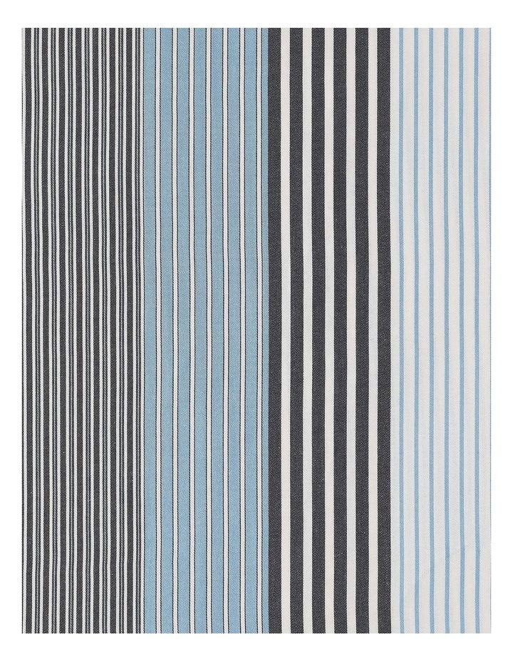 indigo Quilt Cover Set in Striped Blue image 5