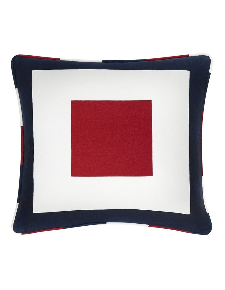 Sailing Cushion in Red/White/Blue image 1