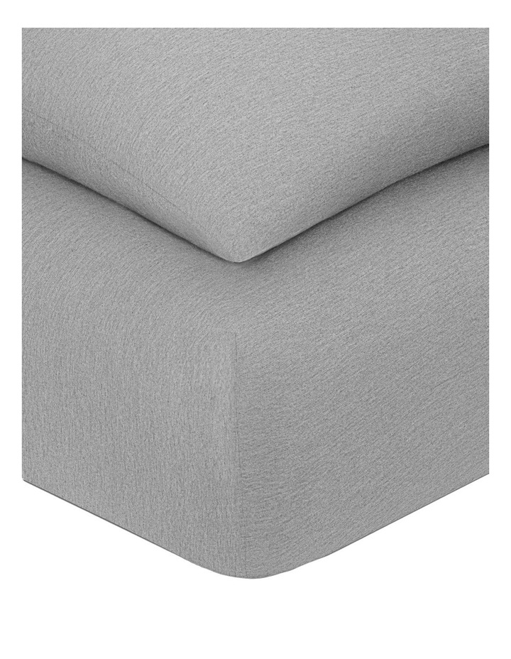 Modern Cotton Harrison Quilt Cover in Grey image 5
