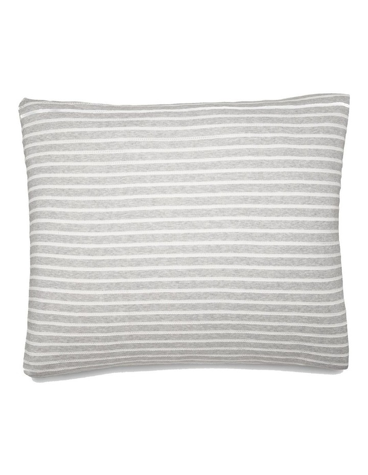 Modern Cotton Lennox Quilt Cover in Grey/Cream image 3