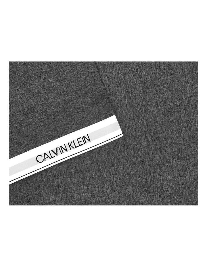 Modern Cotton Classic Logo Quilt Cover in Charcoal image 3