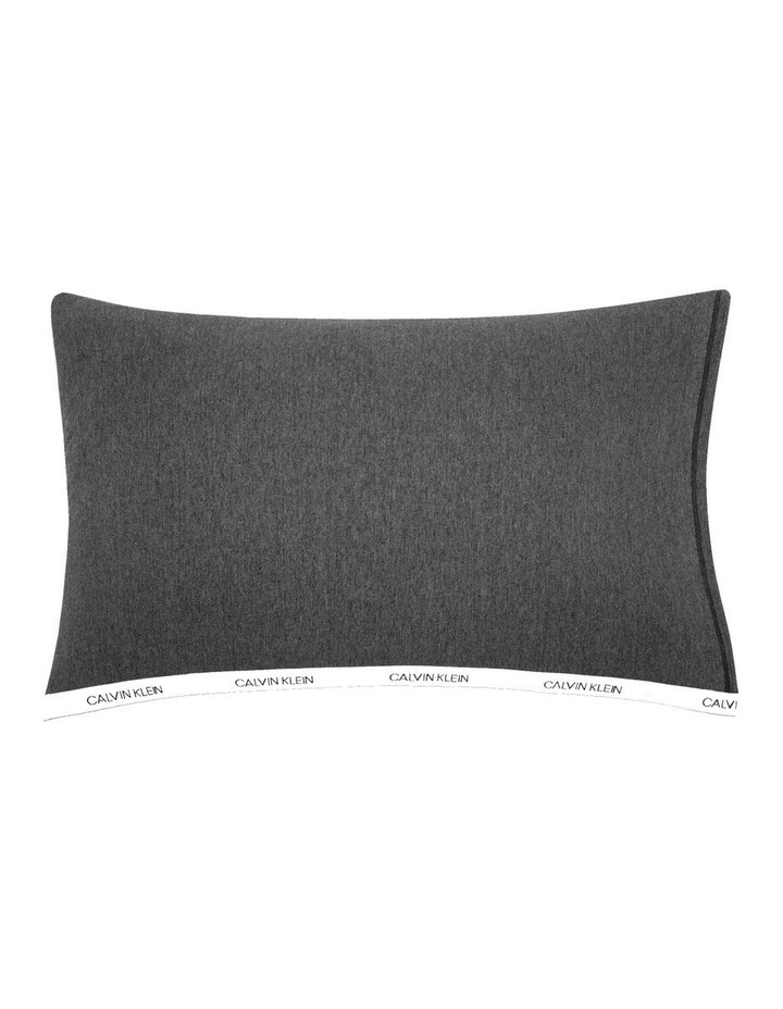 Modern Cotton Classic Logo Quilt Cover in Charcoal image 4