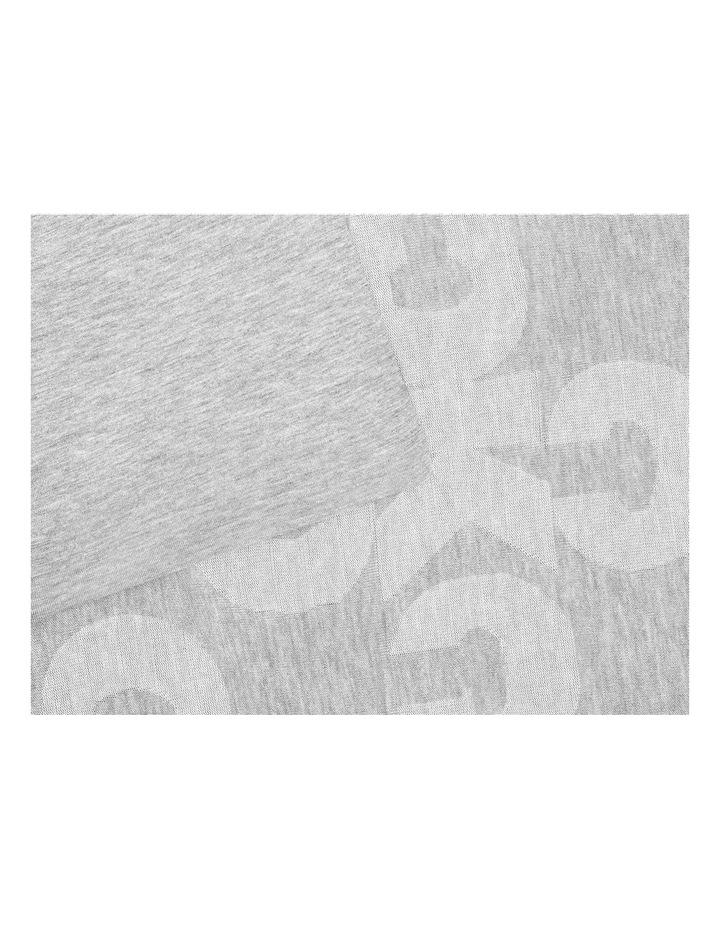Monogram Logo Quilt Cover in Grey image 4