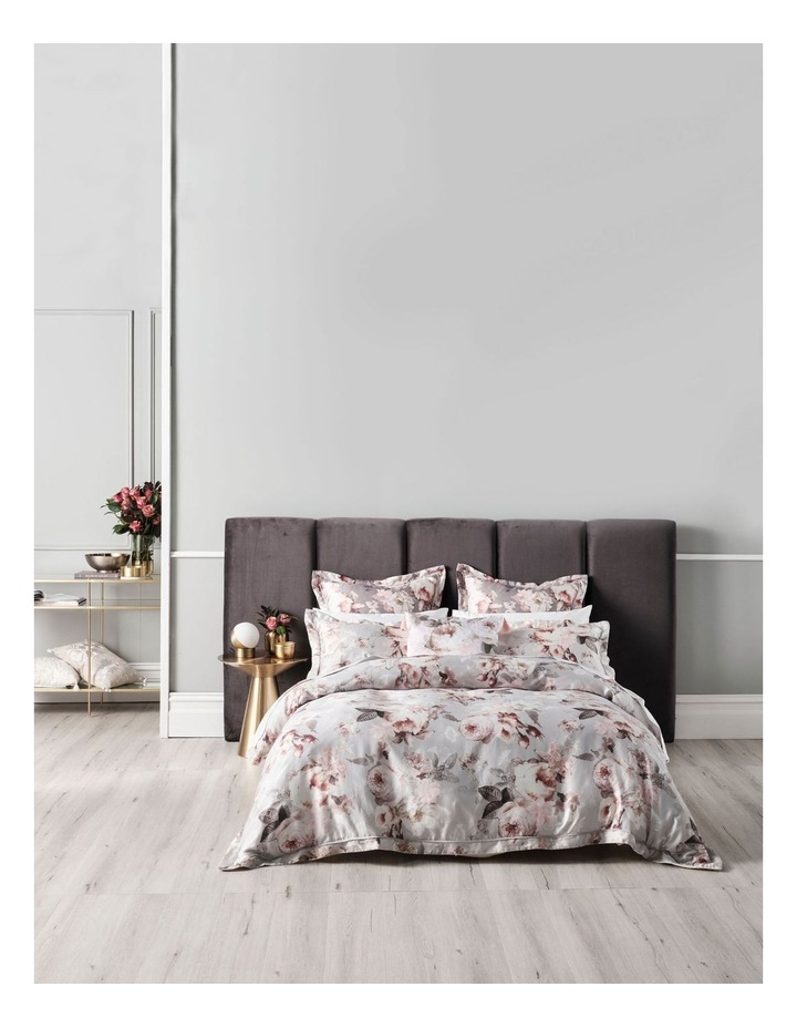 Stefania Quilt Cover Set in Silver image 1