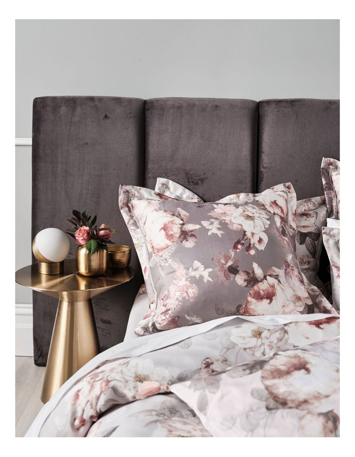 Stefania Quilt Cover Set in Silver image 2