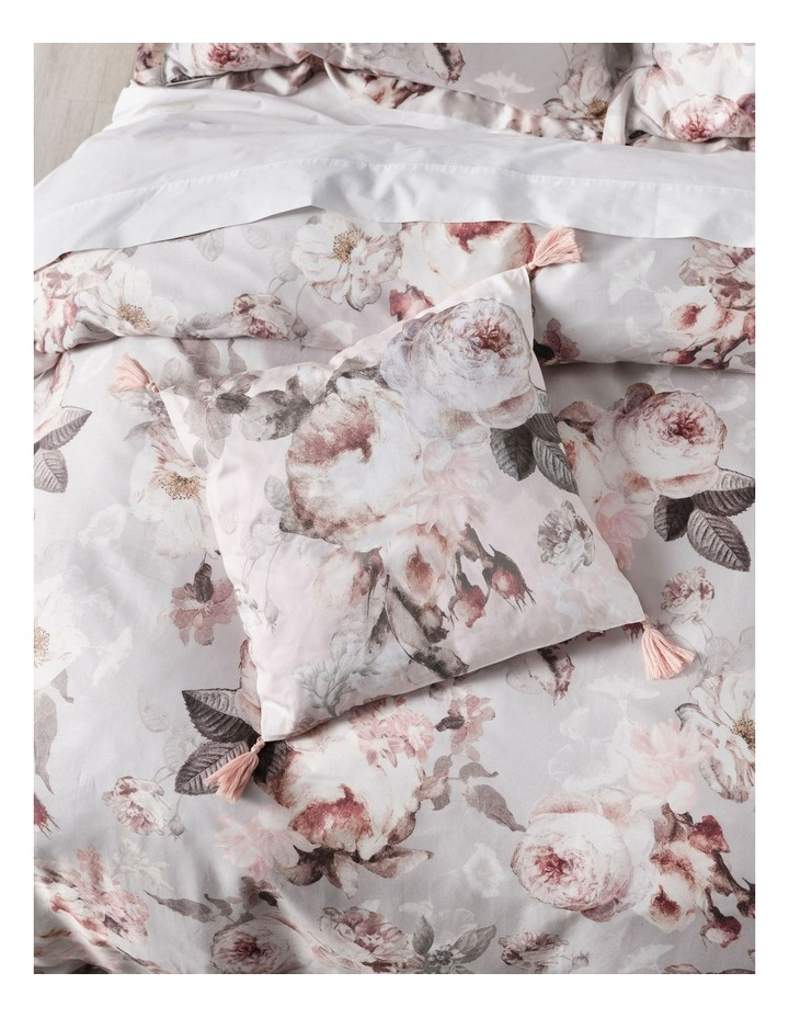Stefania Quilt Cover Set in Silver image 3