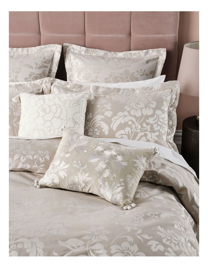Coralie Quilt Cover Set in Linen image 3