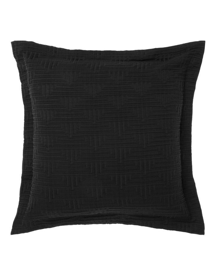 Winston Quilt Cover Set In Black image 3