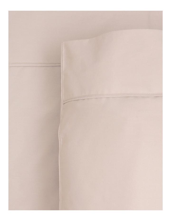 300TC Superfine Cotton Sheet Set in Sand image 1