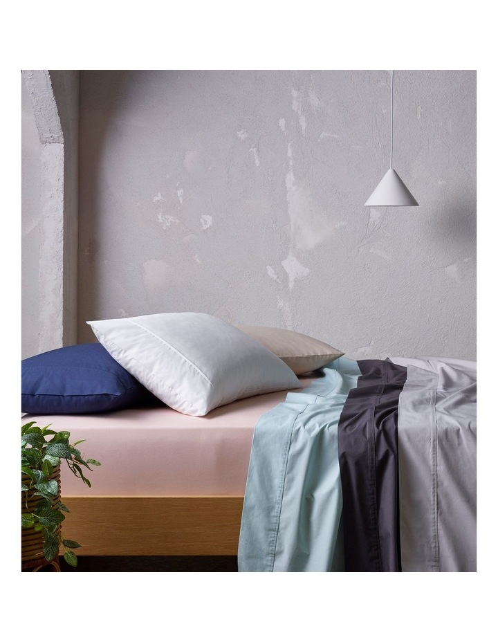 300 TC Superfine Cotton Sheet Set in Silver image 4
