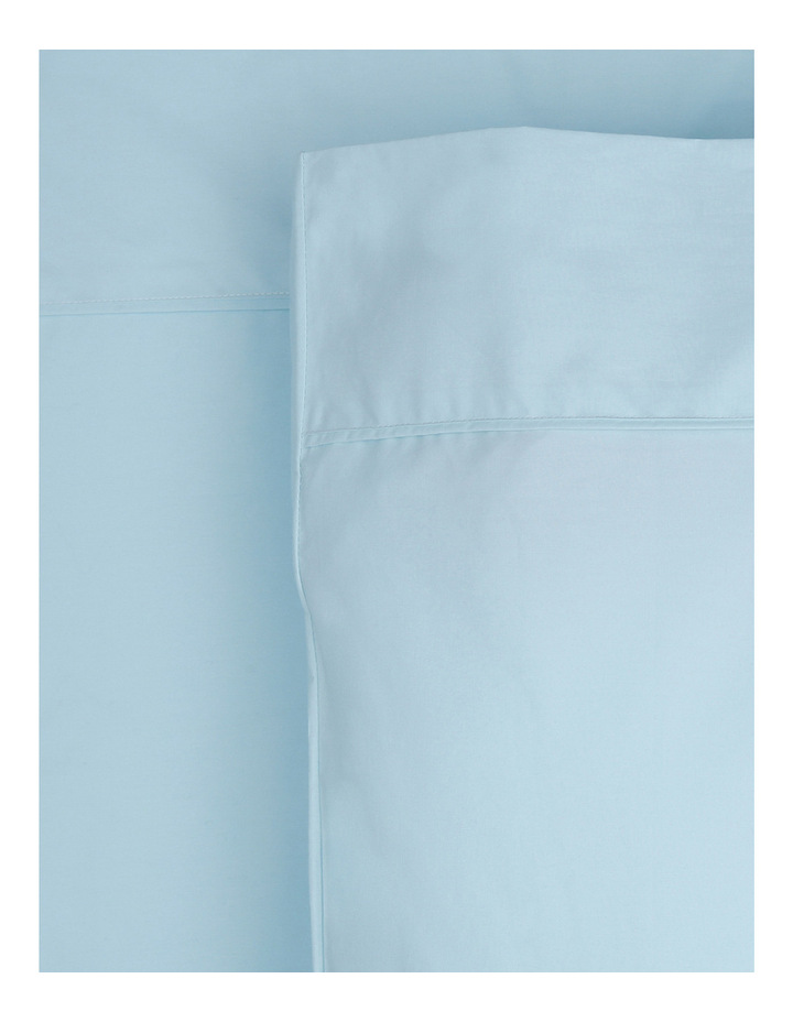 300TC Superfine Cotton Sheet Set in FadedBlue image 1