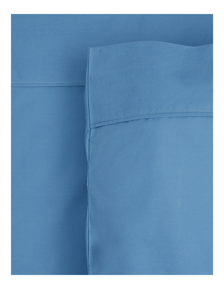 300TC Superfine Sheet Set in Faded Blue image 1