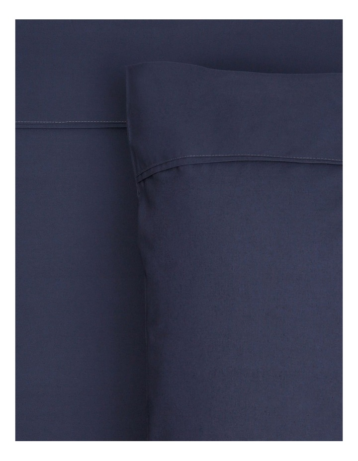 300 TC Superfine Cotton Sheet Set in Navy image 1