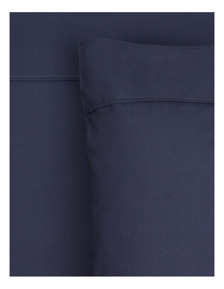 300TC Superfine Cotton Sheet Set in Navy image 2