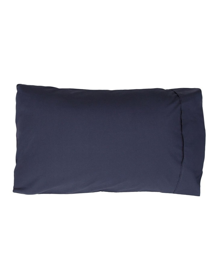 300 TC Superfine Cotton Sheet Set in Navy image 2