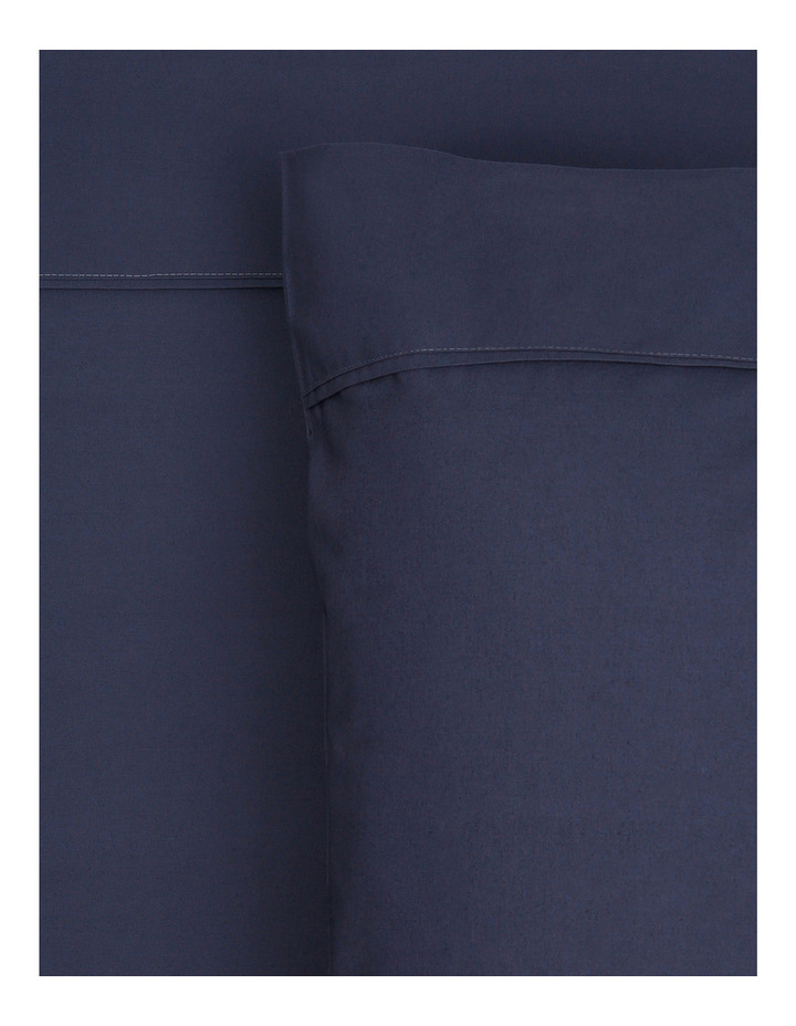 300TC Superfine Cotton Sheet Set in Navy image 1