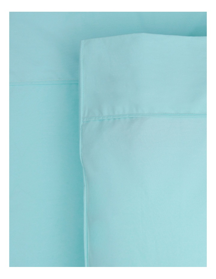 300TC Superfine Cotton Sheet Set in Aqua image 1