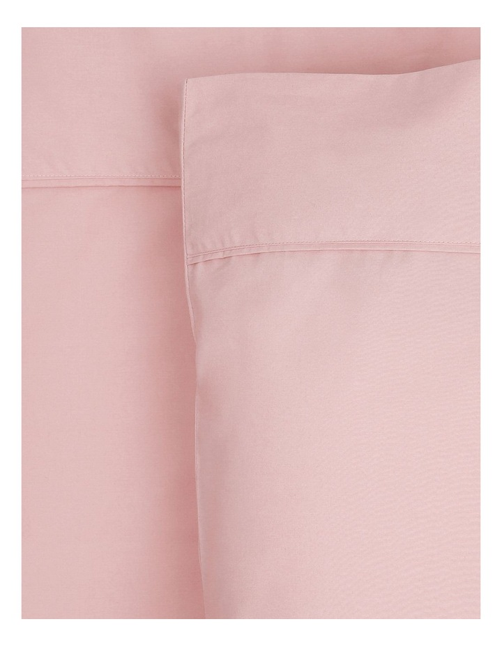 300 TC Superfine Cotton Sheet Set in Dusty Pink image 1