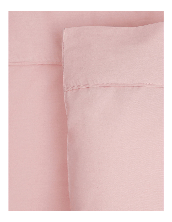 300TC Superfine Cotton Sheet Set in Dusty Pink image 1