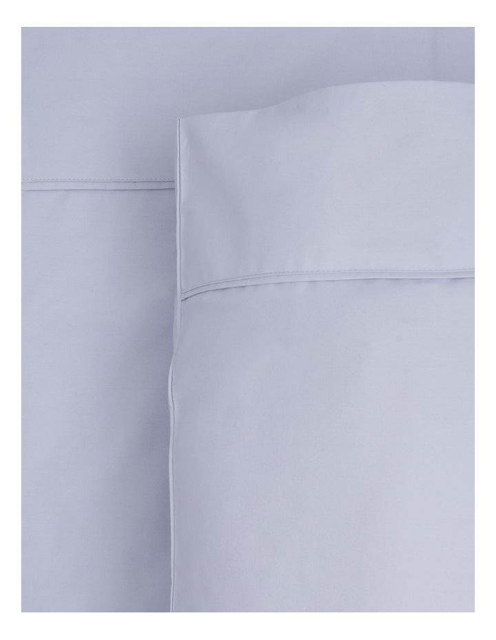 300 TC Superfine Cotton Fitted Sheets in Silver image 1