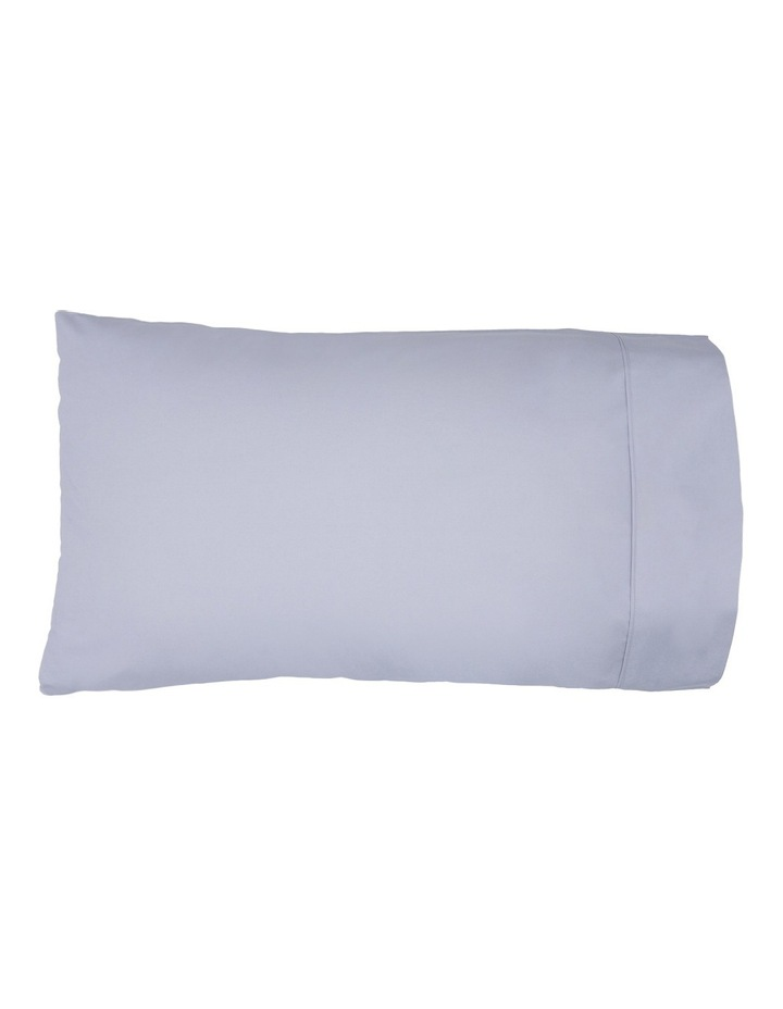 300TC Superfine Cotton Fitted Sheets in Silver image 2