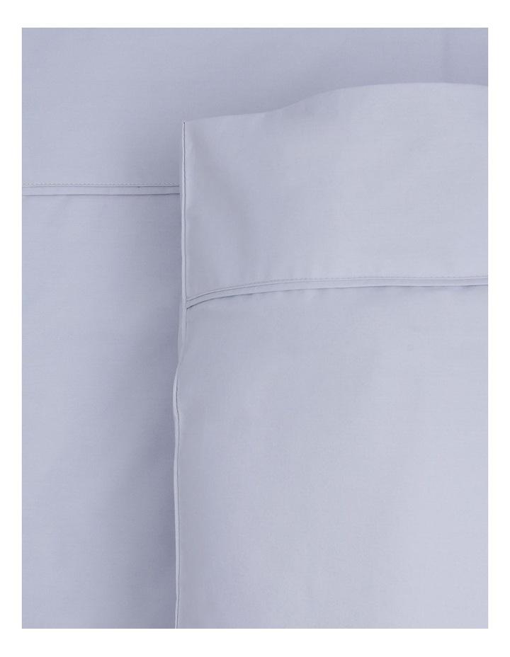 300 TC Superfine Cotton Sheet Set in Silver - 50cm Deep Depth image 1