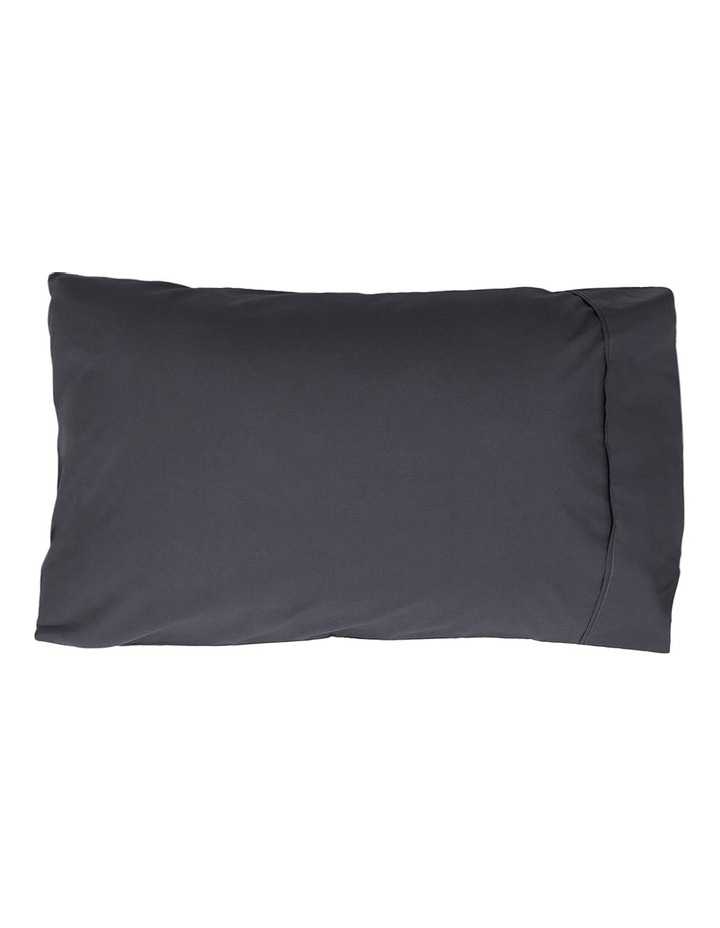 300TC Superfine Sheet Set in Charcoal - 50cm Deep Depth image 2