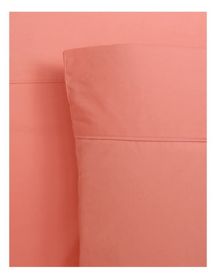 300TC Superfine Cotton Sheet Set in Coral image 1