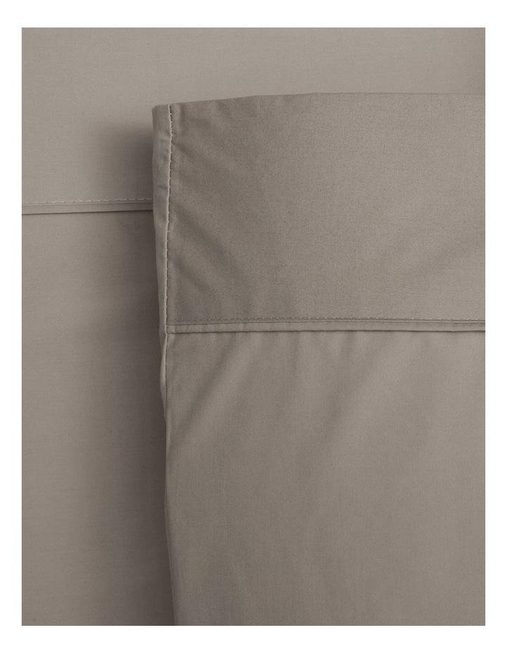 300TC Superfine Cotton Sheet Set in Mocha image 1